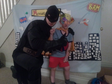Batman & Friend- Gabe